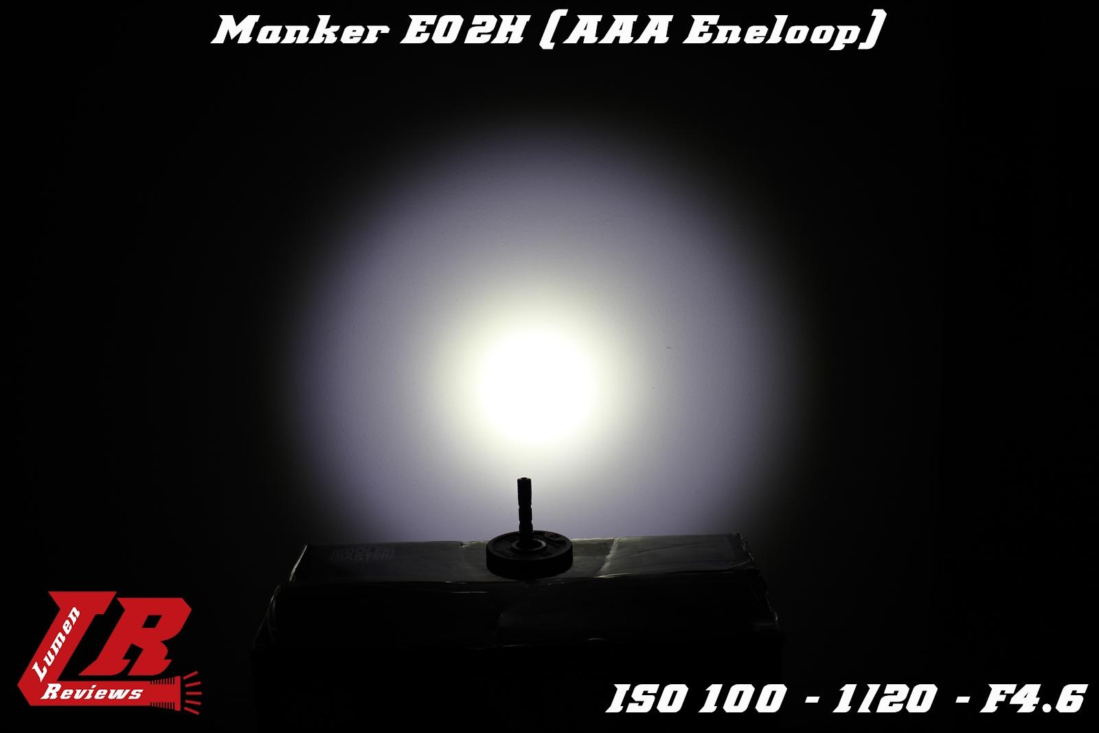 Manker E02H Beamshot 1