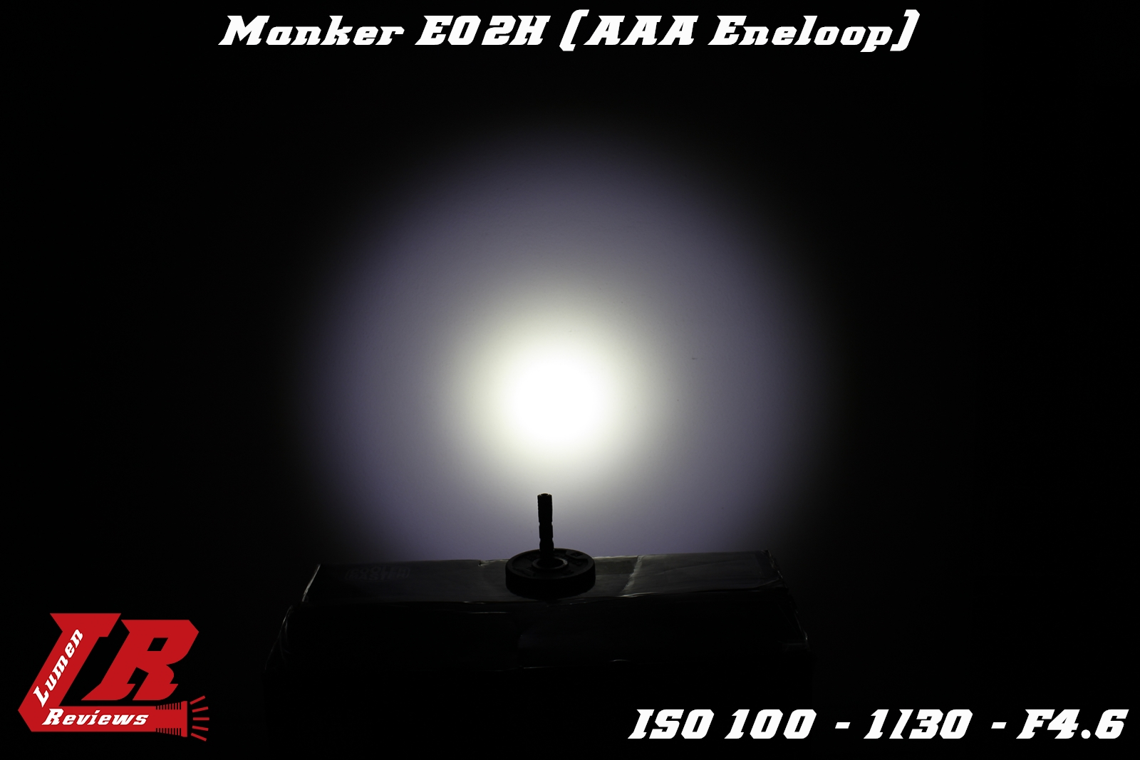 Manker E02H Beamshot 2