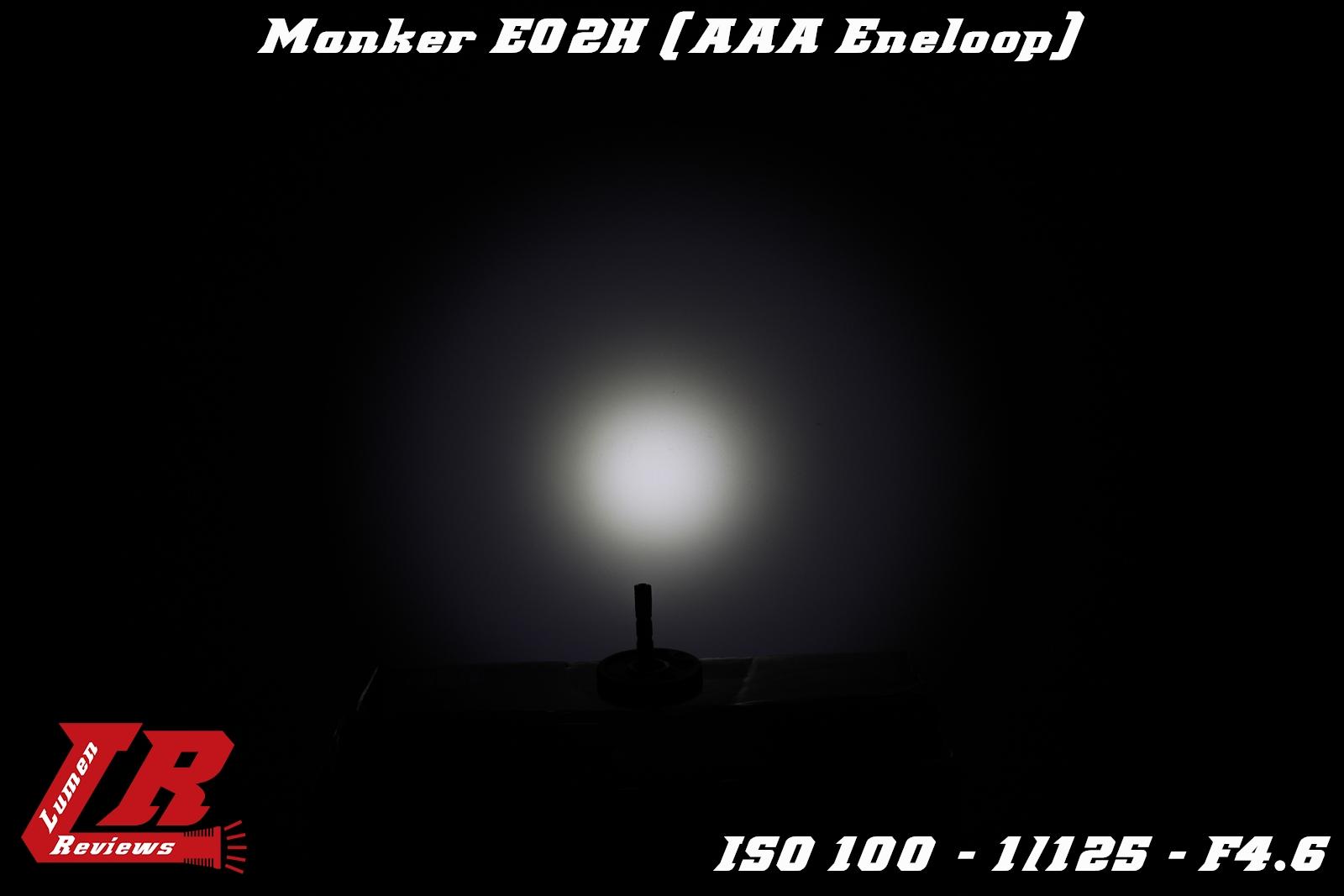 Manker E02H Beamshot 4