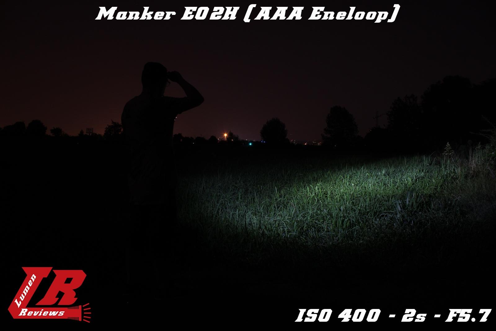 Manker E02H Beamshot 8