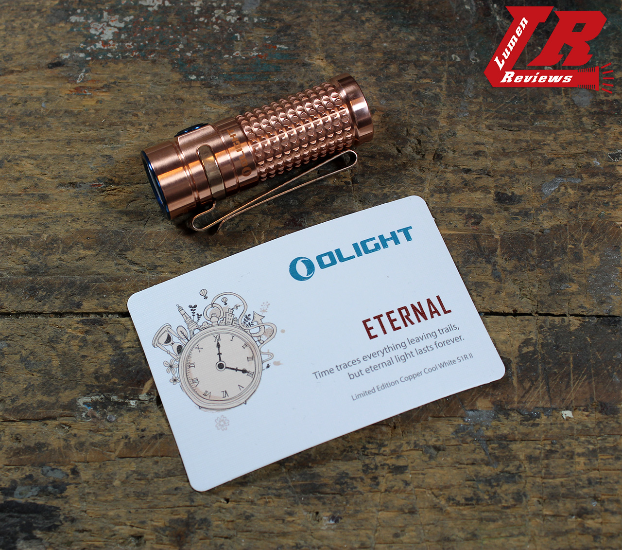 Review Olight S1r Baton Ii Cu Limited Edition Copper