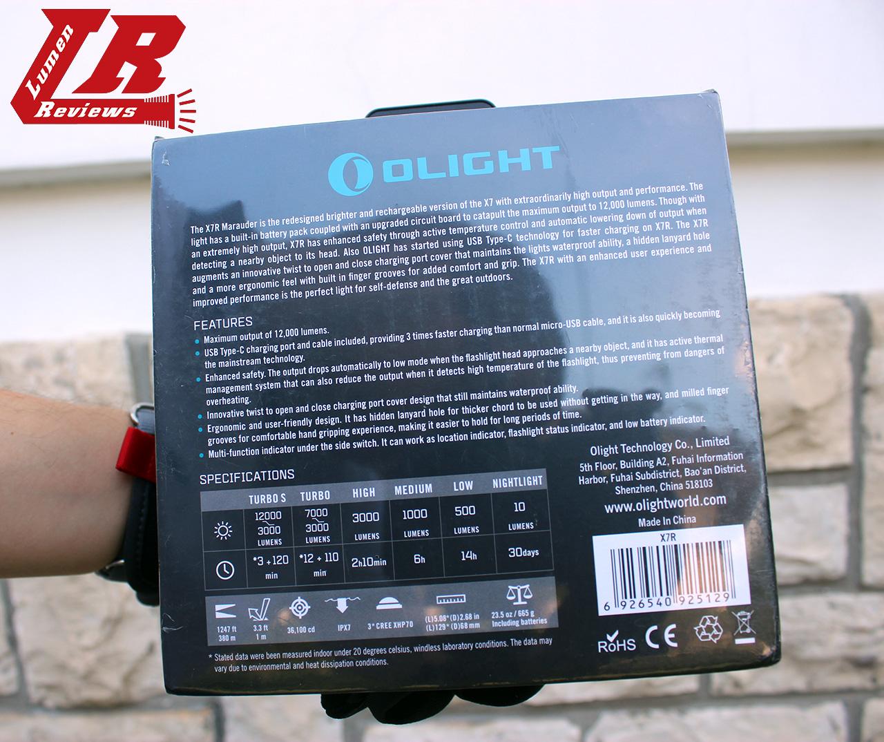 Olight X7R 02
