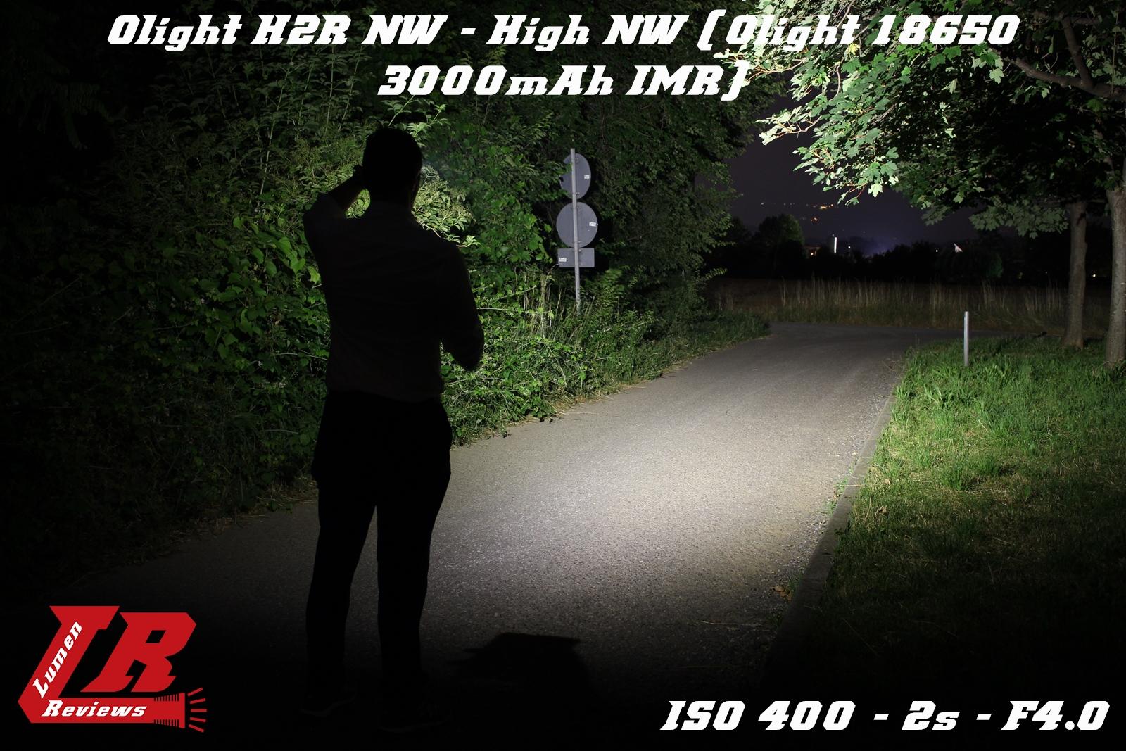 Olight H2R Beamshot 04