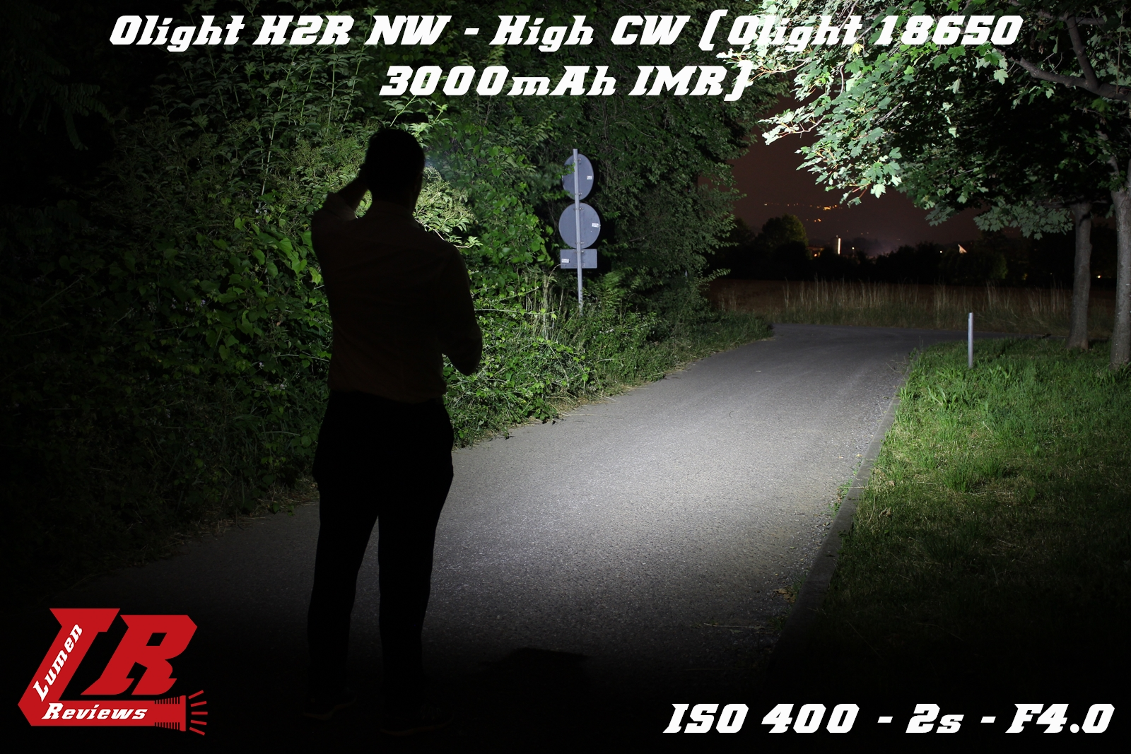 Olight H2R Beamshot 05