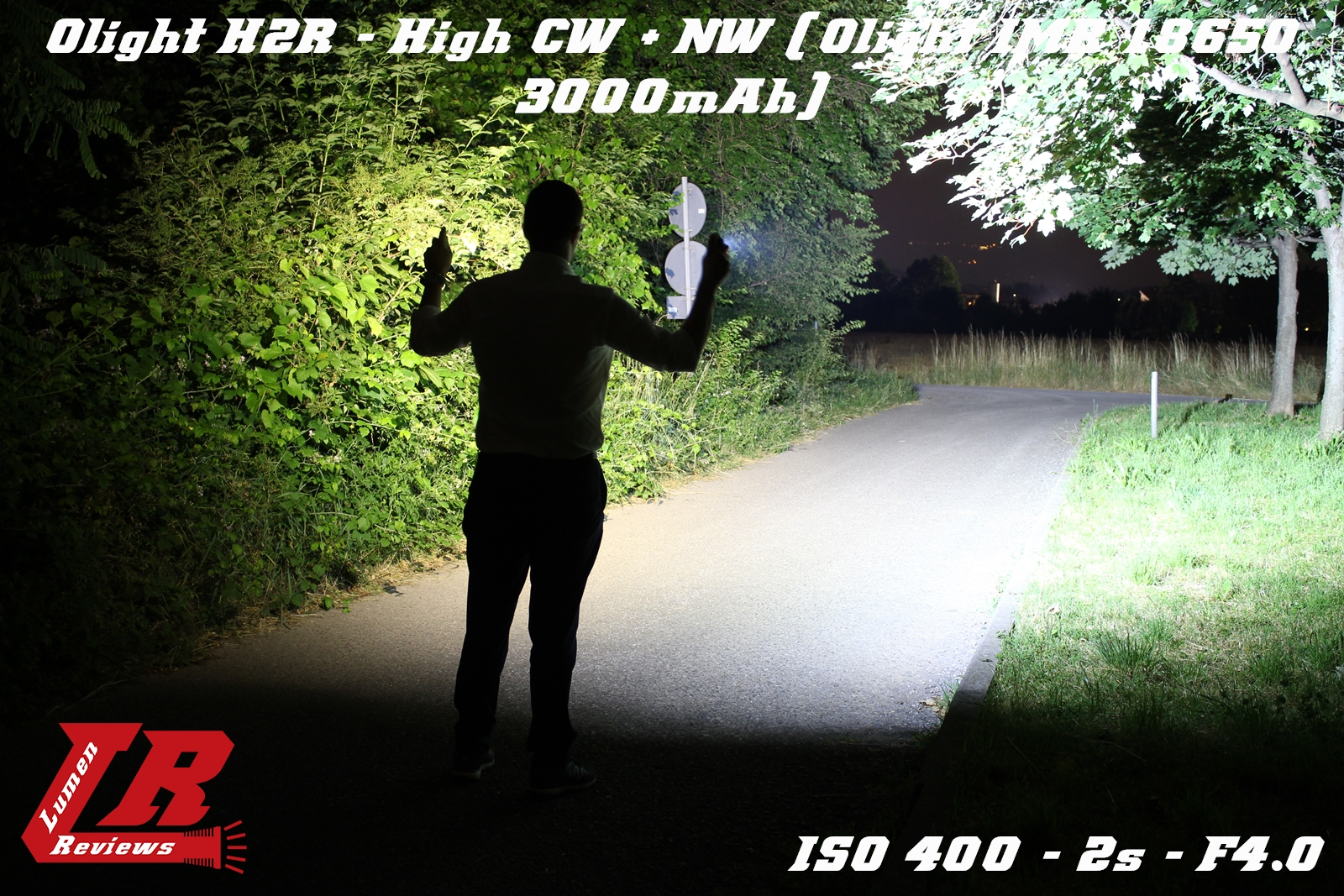 Olight H2R Beamshot 07